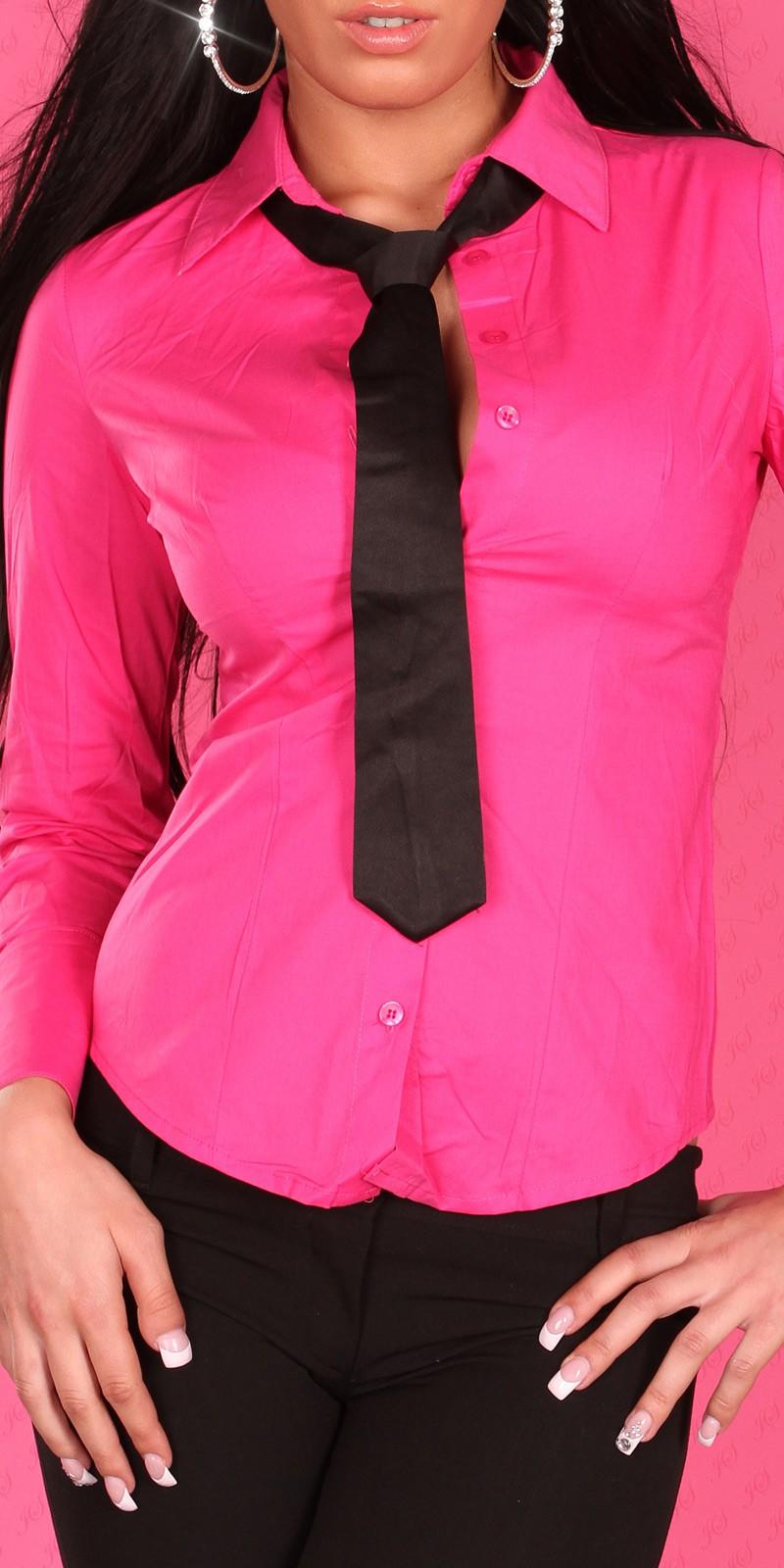 a26e13842c Üzleti blúz nyakkendővel több szín | Mysticfashion női ruha ...