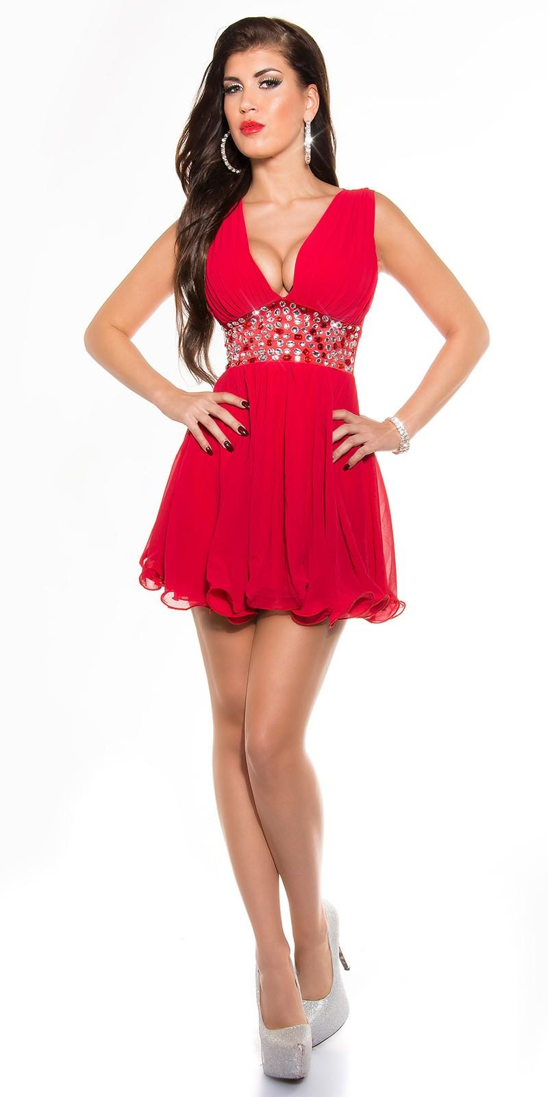 Babydoll női alkalmi ruha - Piros (36-42) empty 878bf20be6