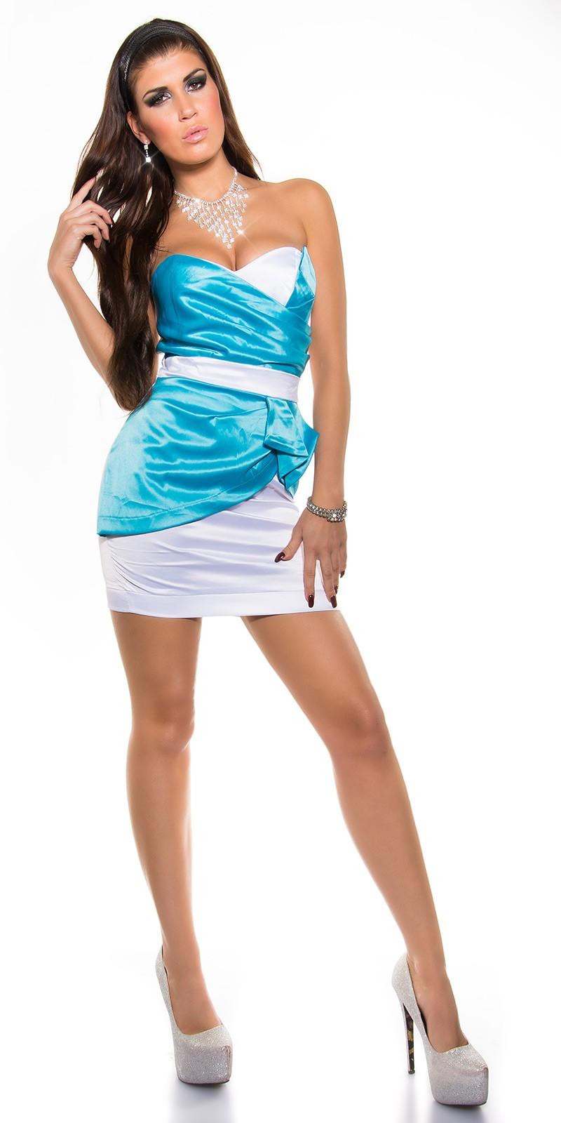 f9cf9df5b9 NŐI RUHA   Csinos koktélruha - Kék (36-40)   Mysticfashion női ruha ...