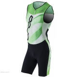 ORCA M 226 PRINTED RACE SUIT BK-NG S