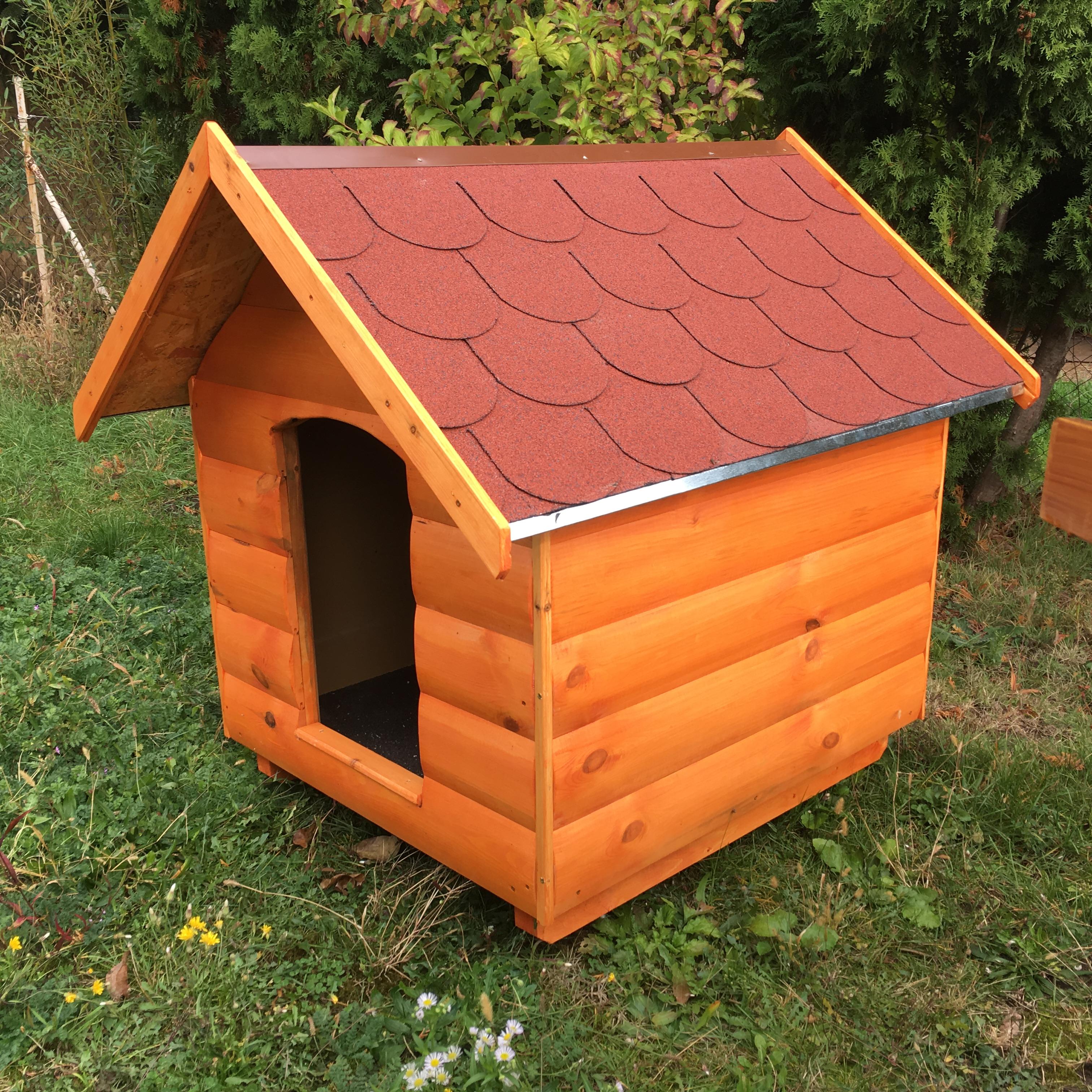 2e2fd533e156 Rönkhatású kutyaházak   Rönkhatású 90X100 hőszigetelt kutyaház ...