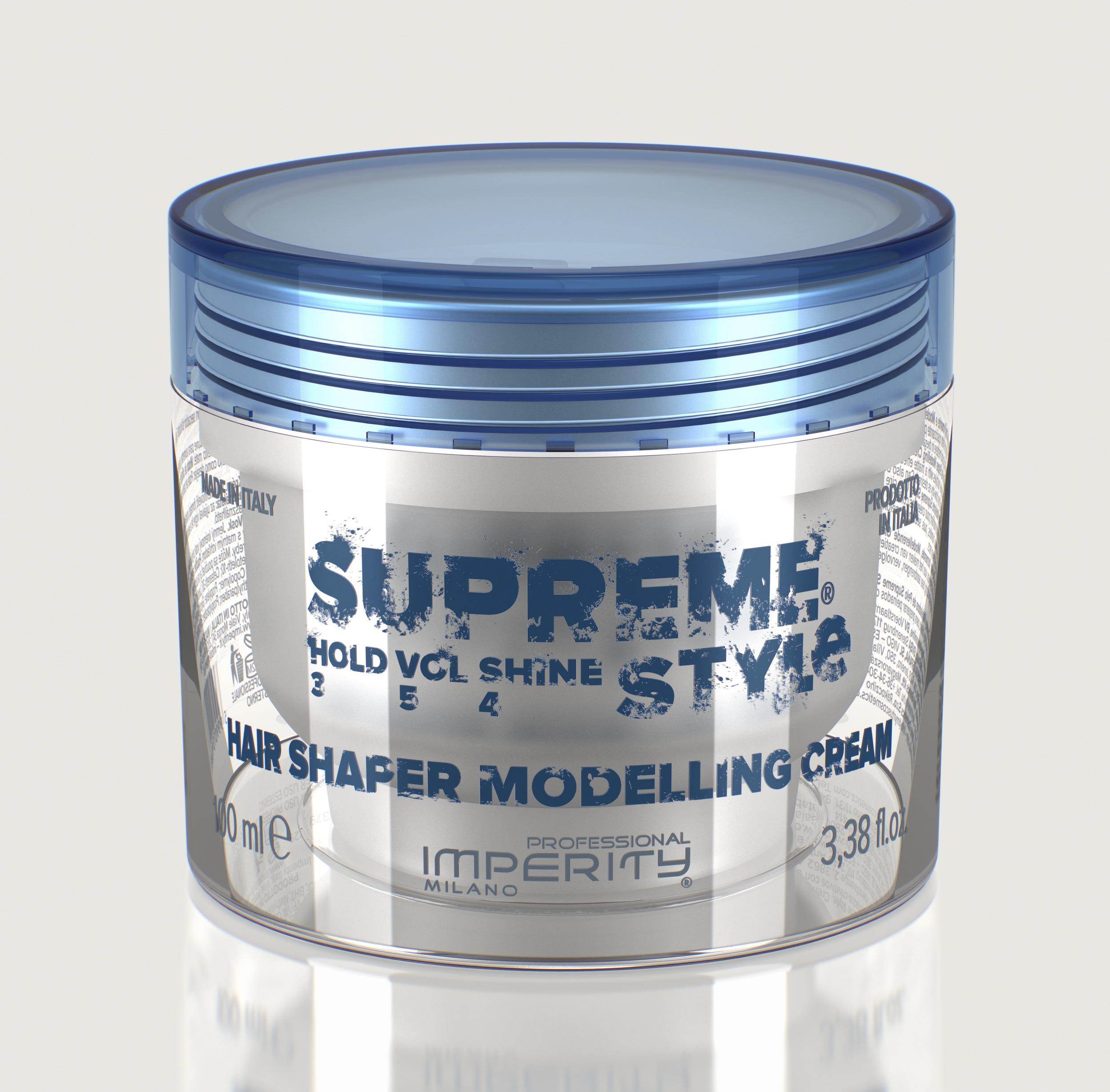 IMPERITY Supreme Style Hair Shaper Modelling Cream Wax 100 ml empty 8ae9c5e8c5