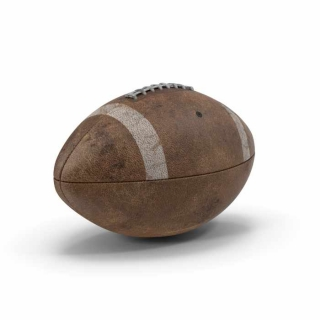 Dirty Football Brown