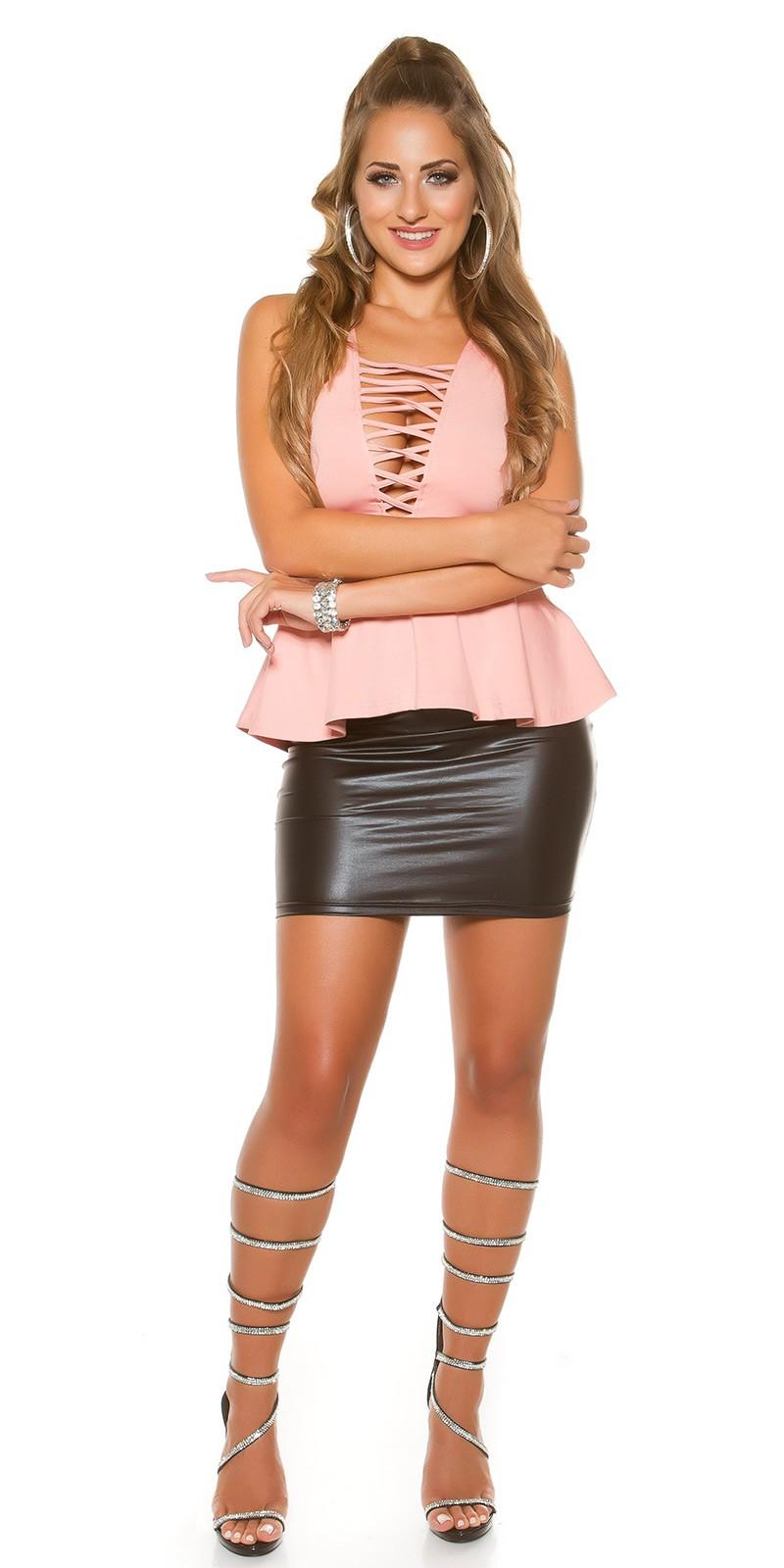 c3db926002 Peplum női felső fűzős dekoltázzsal - Antik (S/M). Az Ön értékelése: