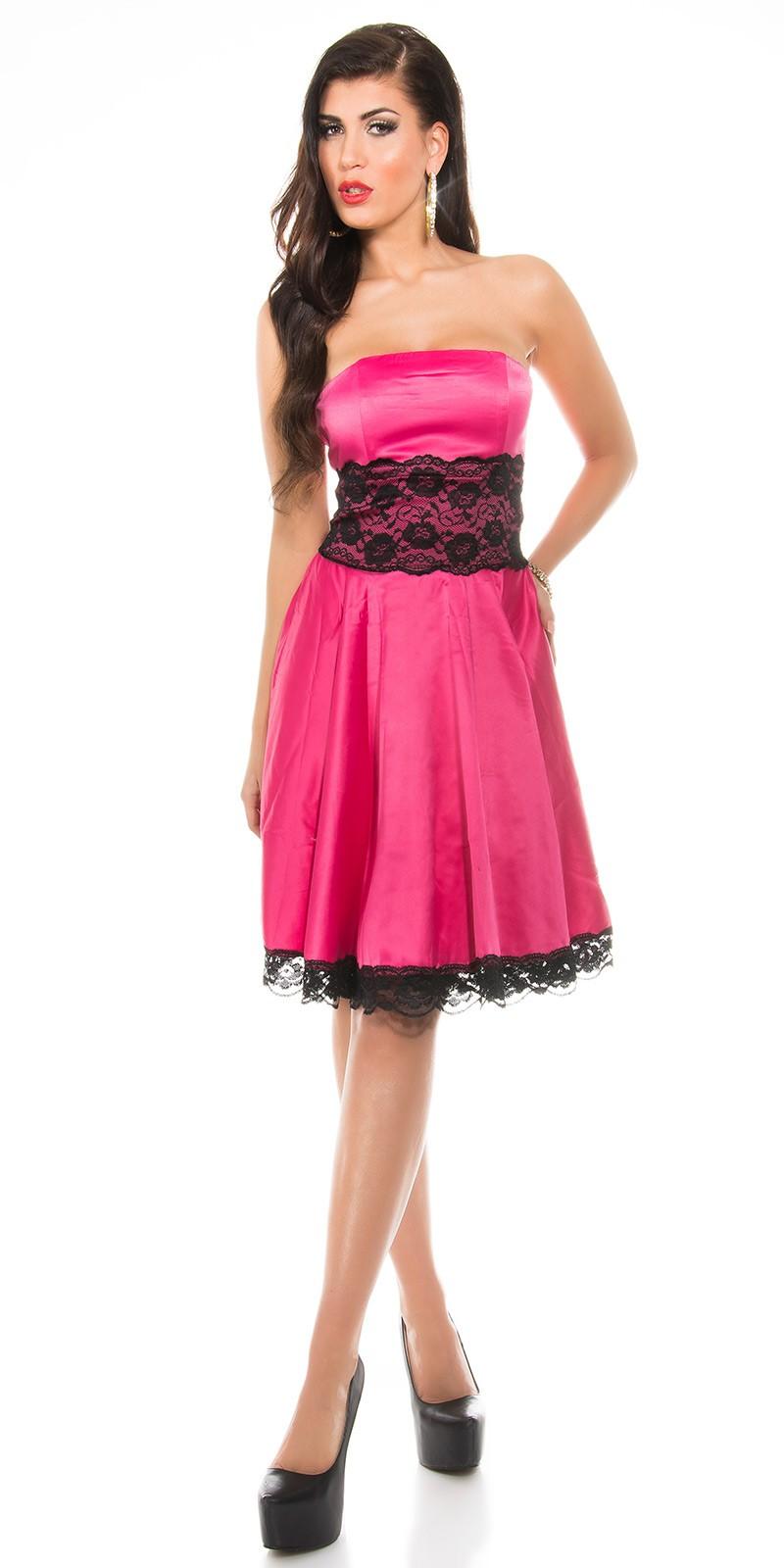 17b77834c6 Fekete csipke rátétes alkalmi ruha - Fukszia (36-40). Az Ön értékelése: