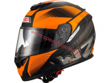NZI INDY BLACK ORANGE  XS-XL-ig